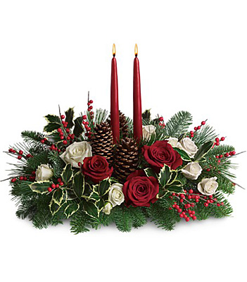 Christmas Wishes Centerpiece from Backstreet Florist in Harrisburg, AR and Wynne, AR