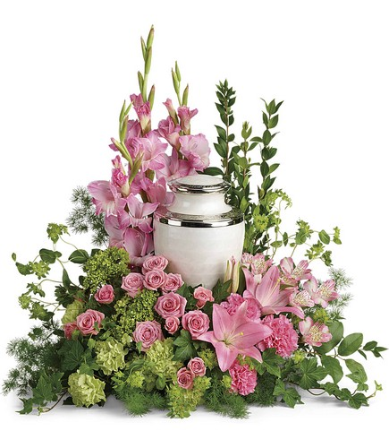 Sacred Solace Cremation Tribute from Backstreet Florist in Harrisburg, AR and Wynne, AR