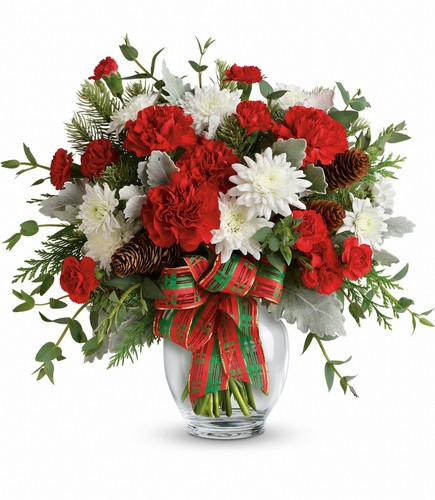 Teleflora's Holiday Shine Bouquet from Backstreet Florist in Harrisburg, AR and Wynne, AR