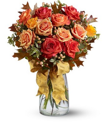 Graceful Autumn Roses  from Backstreet Florist in Harrisburg, AR and Wynne, AR